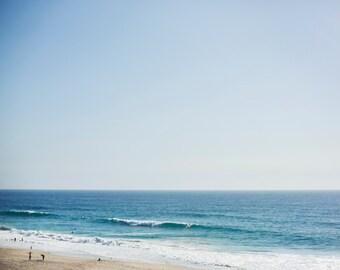 California Beach Day - 8x10 Fine Art Photograph, Orange County, Ocean Photography, Wall Art