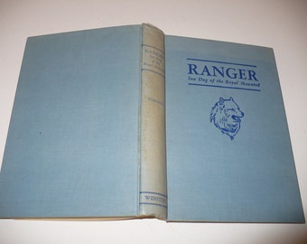 Children's books, Ranger Sea Dog of the Royal Mounted By Charles S. Strong, 1947, Literature Fiction, Young Adult, Vintage Books,
