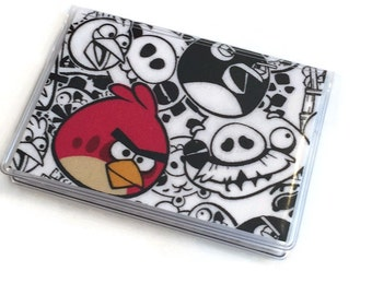 Card Case Mini Wallet Angry Birds