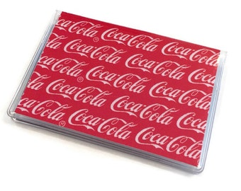 Card Case Mini Wallet Coca Cola