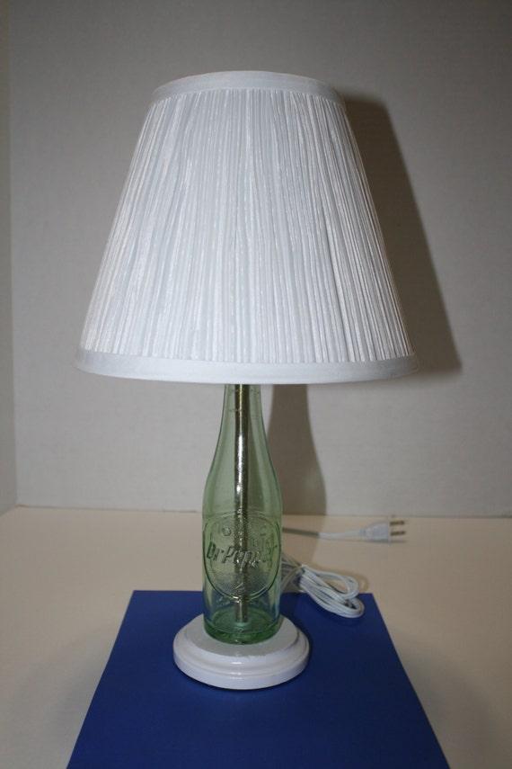 Dr Pepper Lamp : Dr pepper bottle table lamp