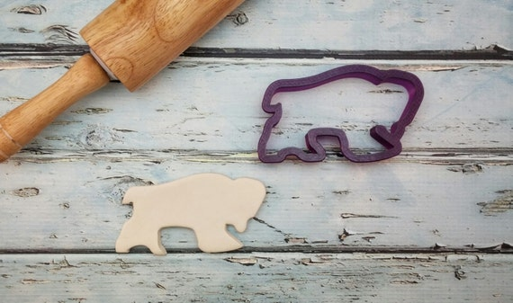 Buffalo or Bison Cookie Cutter or Fondant Cutter