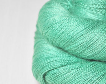 Green sea - BabyAlpaca/Silk Lace Yarn