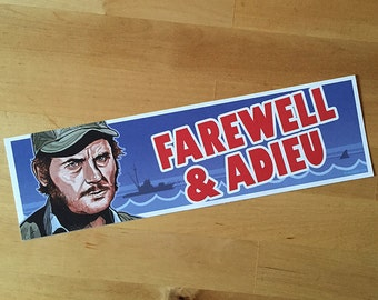 Quint JAWS Bumper Sticker