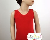 Red Leotard (Child) Red Tank Leotard