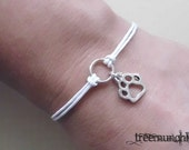 Paw - Circle of Life Bracelet or Anklet, made in USA
