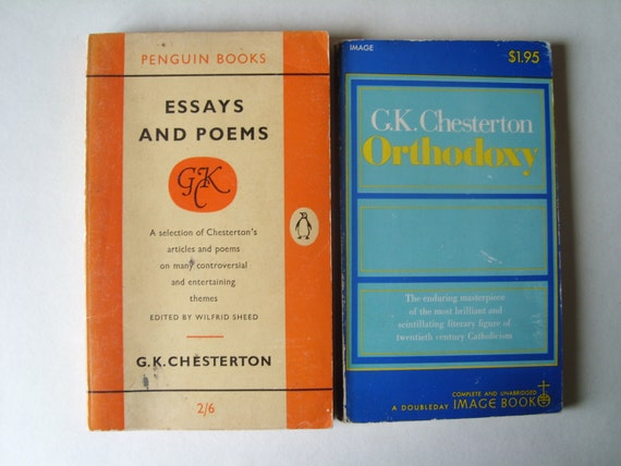 Gk Chesterton Essays - College essays writing services