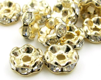 6mm x 3mm 40Pieces Alloy Metal Loose Beads Finding  ja636