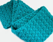 Custom Listing for Bri - Teal Infinity Scarf
