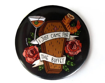 I just came for the buffet button pins illustration