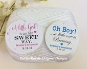 Starts at 30 BABY SHOWER Favor Tags