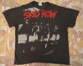 SKID ROW 1989 tour T SHIRT