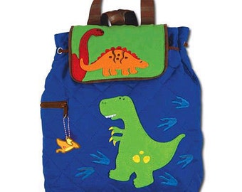 Stephen Joseph Dinosaur boys toddler backpack personalized monogrammed