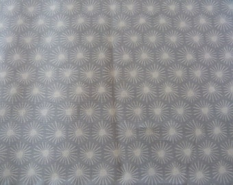 Morn's Rays in Gray,  Aubade Collection by Michelle Engel Bencsko for Cloud 9 Fabrics 1/2 yd