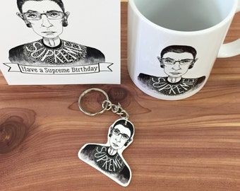 The Supreme Keychain -  Justice Ruth Bader - Notorious RBG