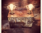 EZ ART OVEN - Vintage Upcycled One of a kind Table Lamp