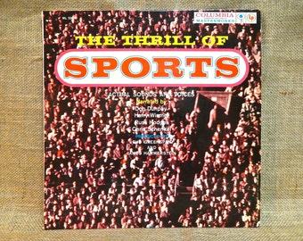 The THRILL of SPORTS - Vintage Vinyl Record Album