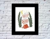 Sleep Under The Stars Color Print