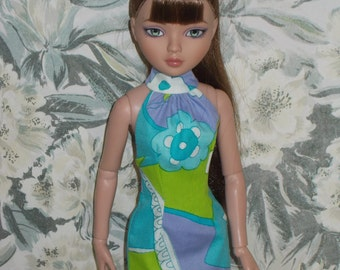 "OOAK doll clothes for Ellowyne Wilde - ""Fearless and Fab"""