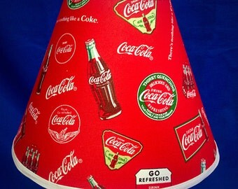 Coke Coca Cola Lamp Shade