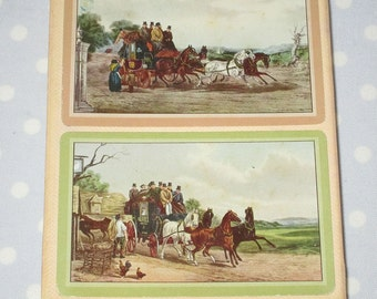 Vintage Playing Cards Horse and Carriage by Guild and Western New, Wrapped