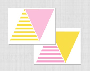 Lemonade Stand Collection: Printable Pennant Banner