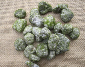 Stones with moss spots - Perfect for a fairy garden