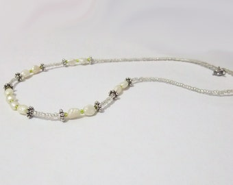 Beaded Real Pearls Necklace