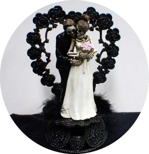 halloween wedding cake toppers day of the dead wedding cake topper skeleton 4674