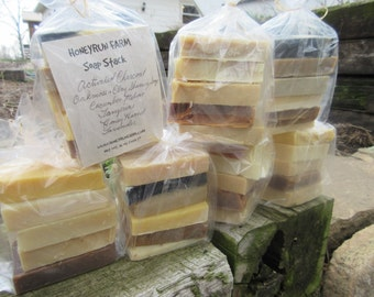 FREE SHIPPING - 1 pound Handcrafted Soap made with honey and beeswax