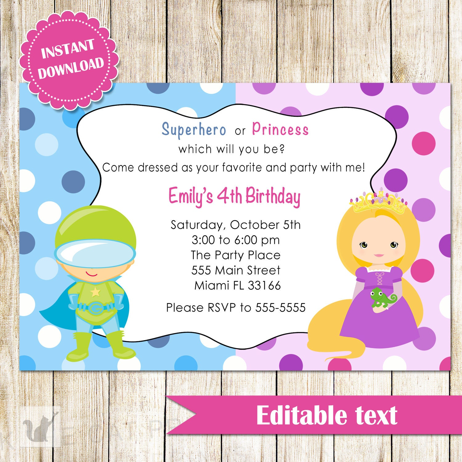 Free Printable Download Princess Invitation – orderecigsjuice.info