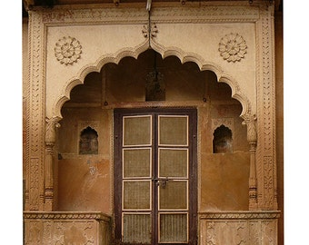 Door art architecture browns earth tones travel art India syamarts photography canvas prints, prints any size, art cards, woodblocks, sacred