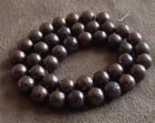 Excellent  Pyrite  Round  Beads  Strand