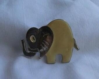Elephant Vintage Brooch