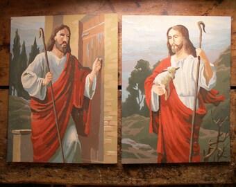 Vintage Jesus Paint By Numbers Paintings