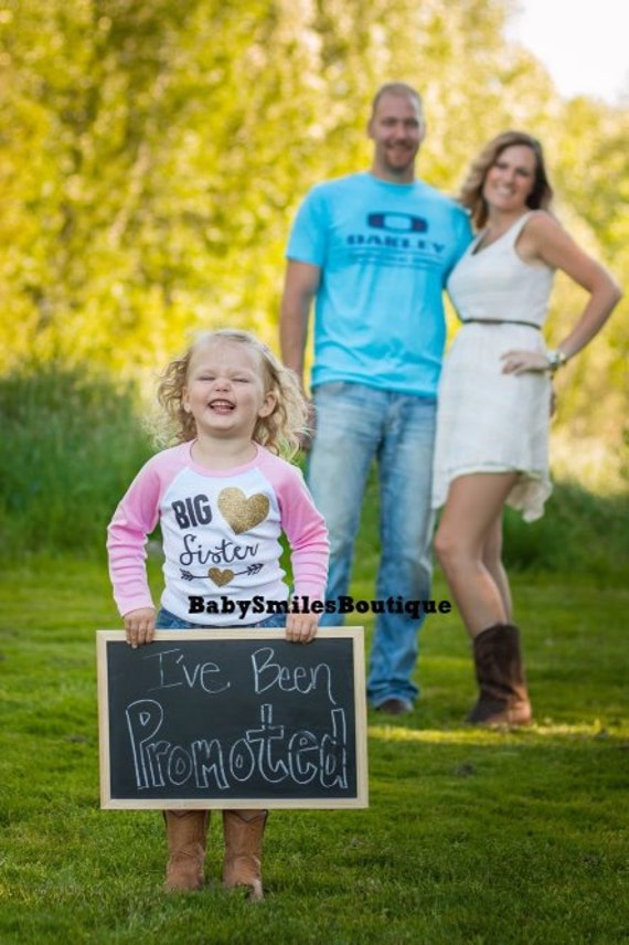 Big Sister Shirt Little Sister Shirt Personalized Shirt – Big Sister Birth Announcement