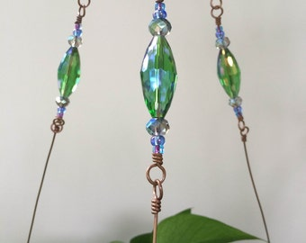 Venus Glass Beaded  Plant Hanger