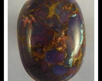 Mohave prupleTurquoise Gemstone Cabochon 8644