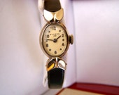 "Vintage 60's ""LADiES BULOVA WATCH""  10Kt Rolled GOLD Plate"