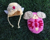 Princess Zelda Newborn Photography Hat and Cape Prop Link Hyrule