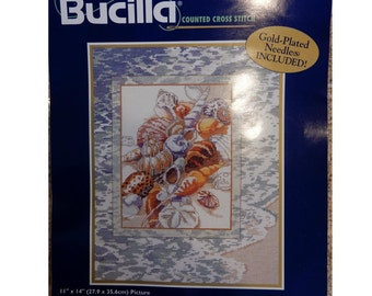 """Bucilla Counted Cross Stitch #42433 """"Tranquility"""""""