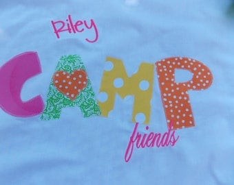 Great camp autograph Personalized Pillowcases-Monogrammed Summer Camps Slumber Parties Birthday Parties Standard size