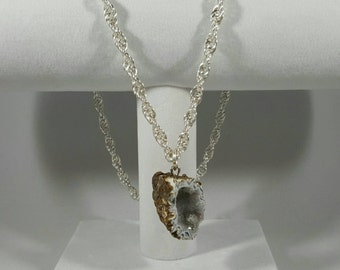 Twisted Geode Necklace