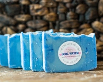 Handmade Cool Waters Soap (Cold Process)