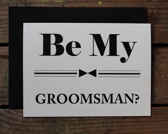 Be my Groomsmen, Groomsman, Best Man, Ring Bearer, Wedding Party - Set of 10