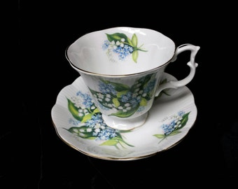 "Royal Albert ""Lily of the Valley""  Bone China Cup and Saucer"