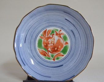 Japanese porcelain plate 4646, blue and white, imari, japanese antiques, chinese antiques