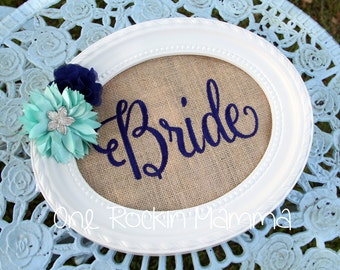 Bride Groom Embroidery Design- INSTANT DOWNLOAD