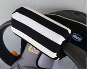 Carseat Handle Cushion Cover Padding Handle Pad Only Choose your colors to match your Canopy REVERSIBLE