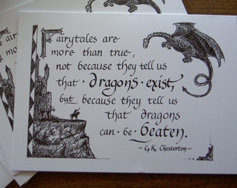 Fairytales Greeting Card